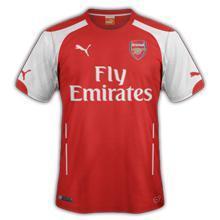 Maillot de football Puma Arsenal Domicile 2014-2015