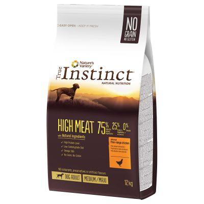 20% remise sur croquettes chien/chat True Instinct