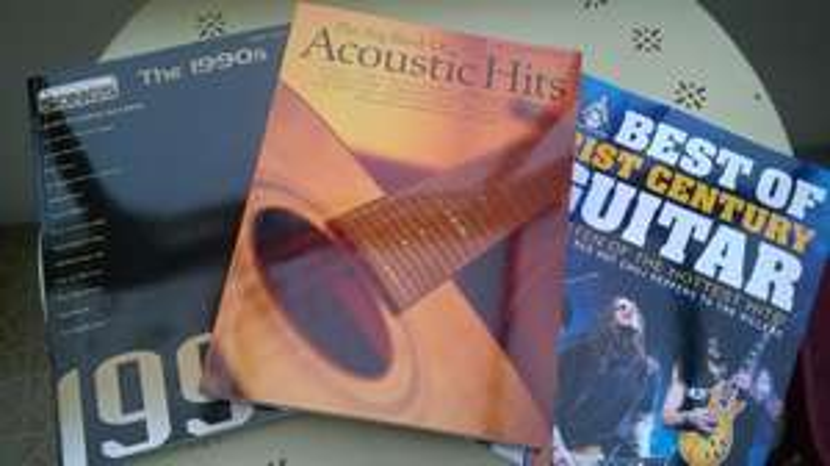 Sélection de Songbook  pour piano et guitare