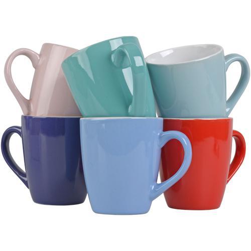 6 tasse à café Senseo 8cm (Diverses couleurs)