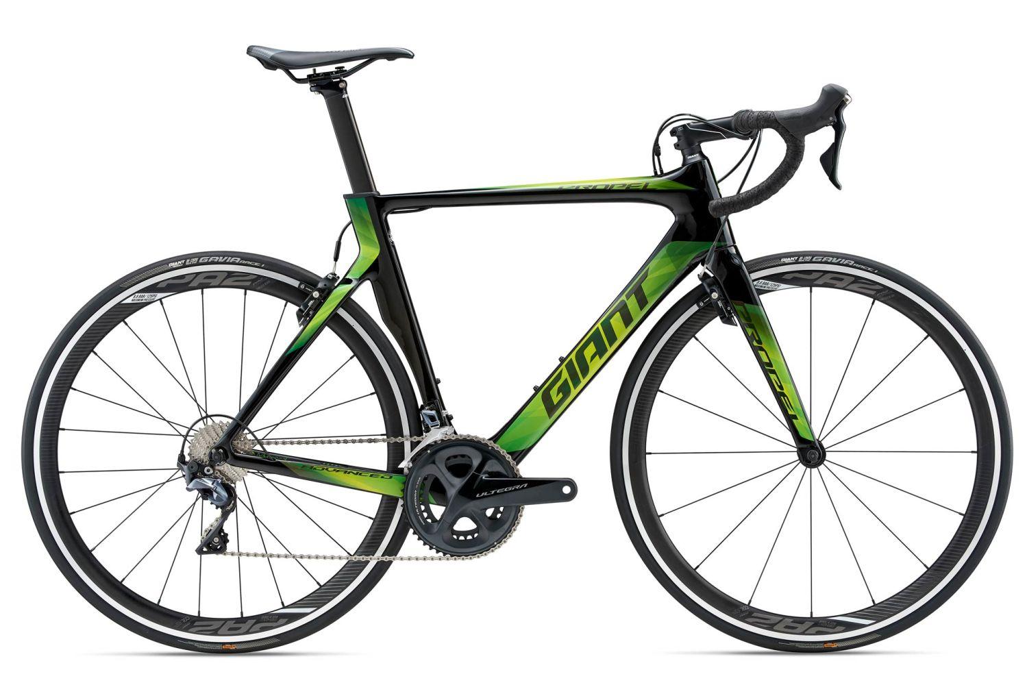 Vélo Route Giant Propel Advanced 1 2018 Carbon - Ultegra R8000 (rutlandcycling.com)