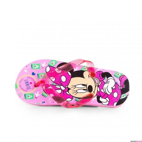 Paire de Tongs fille Minnie Disney - Taille 34/35, frais de port inclus (DegriffStock.com)