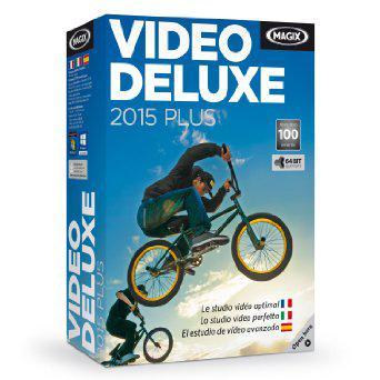 Logiciel de montage vidéo Magix Vidéo Deluxe 2015 Plus
