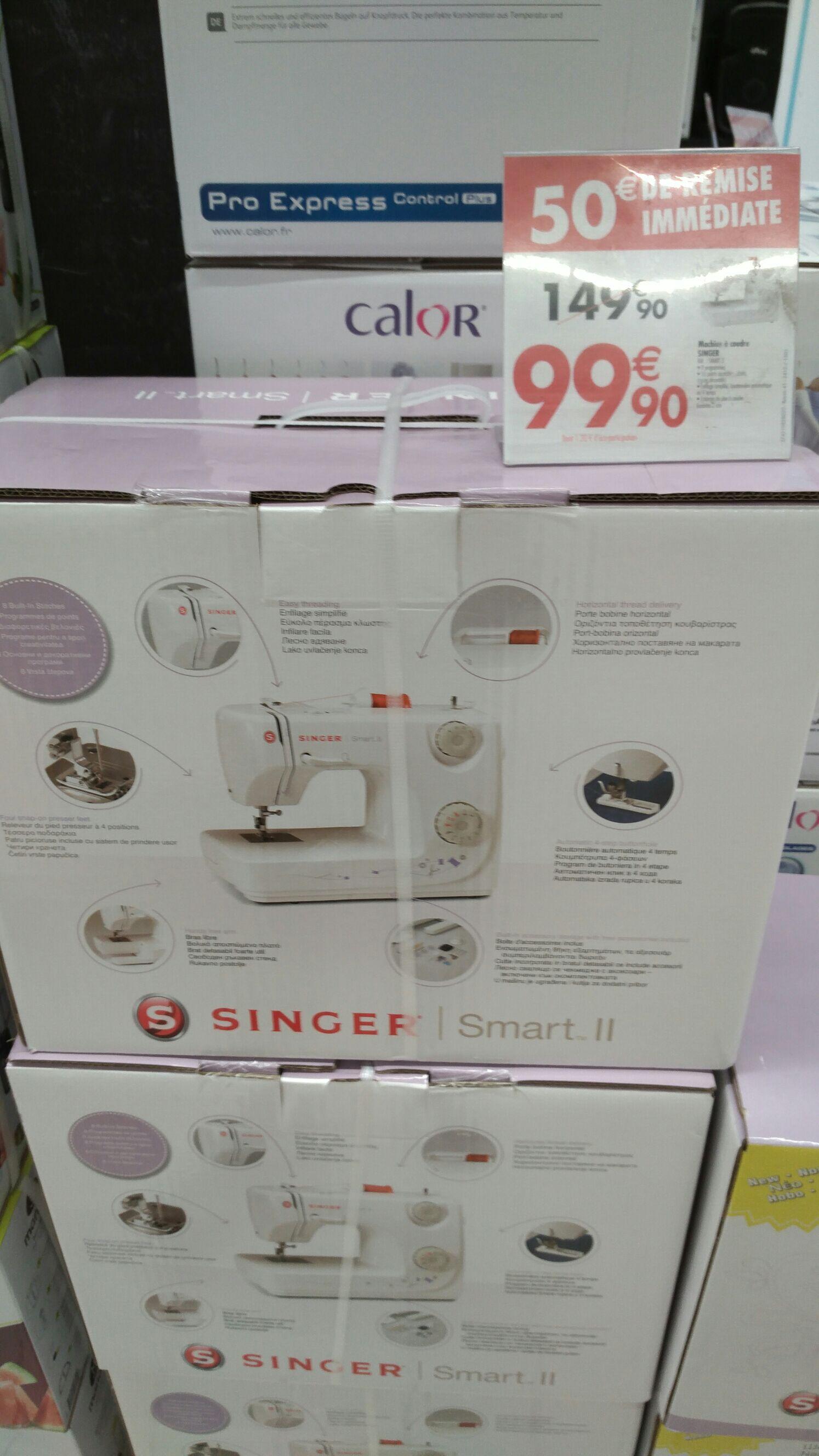 Machine à coudre Singer Smart 2 - Ecully (69)
