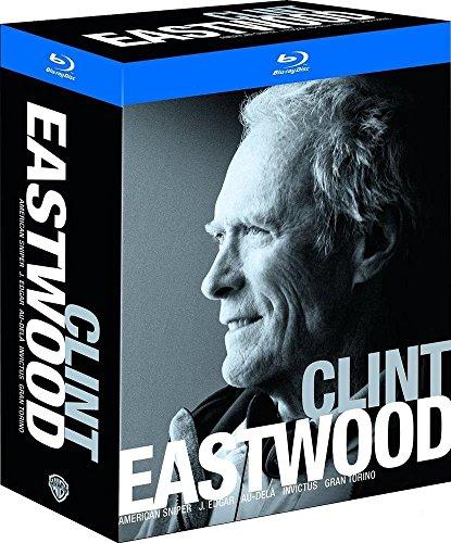 Coffret Blu-Ray Clint Eastwood - American Sniper + Gran Torino + J. Edgar + Invictus + Au-delà (Vendeur Tiers)