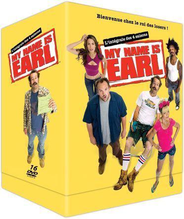 coffret 16 DVD My Name Is Earl : L'intégrale des saison 1 à 4