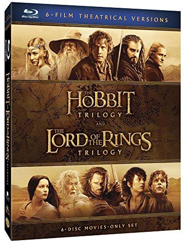 Coffret intégral Blu-Ray : Le Hobbit et le seigneur des anneaux (La Trilogie)