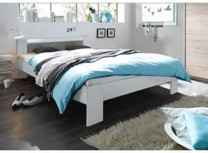 ensemble vegeta lit matelas sommier 140 x 200 cm via vente priv e. Black Bedroom Furniture Sets. Home Design Ideas