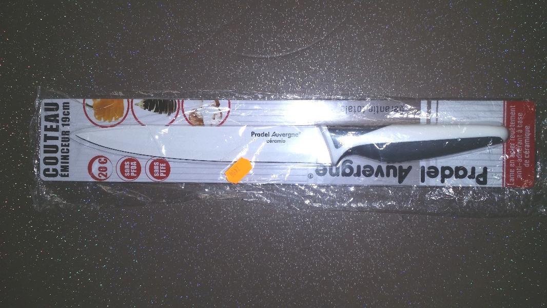 Couteau éminceur Pradel Auvergne 19 cm