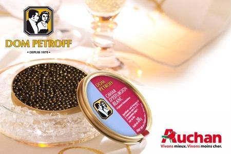 Boîte de Caviar Dom Petroff à retirer en magasin Auchan