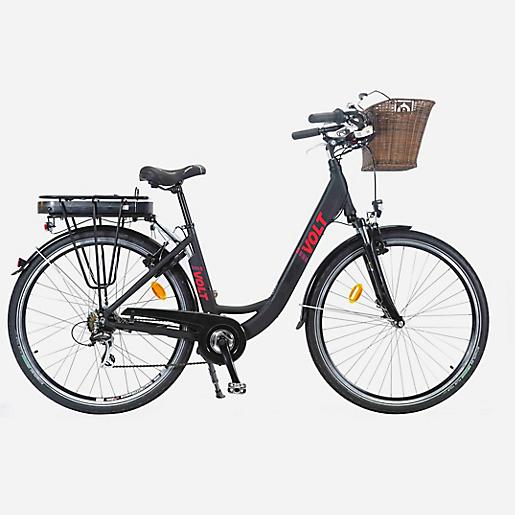 Vélo de Ville Electrique I-Volt Y896WB AKU - Noir