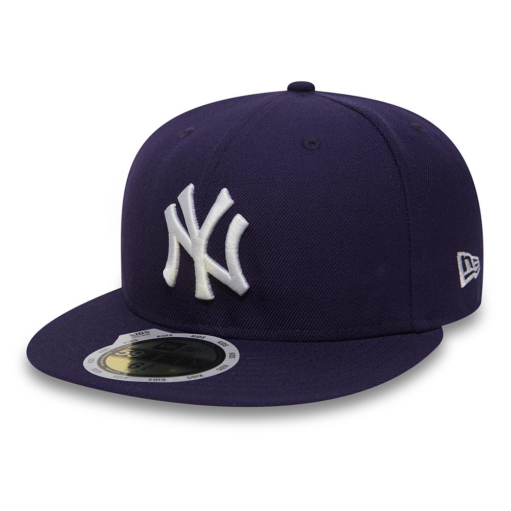 Sélection de Casquettes et Bonnets New Era en Promotion - Ex: NY Yankees Essential 59Fifty pour Enfants
