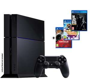 Console Sony PlayStation 4 - 500 Go + Driveclub + LitleBigPlanet 3 + The last of Us