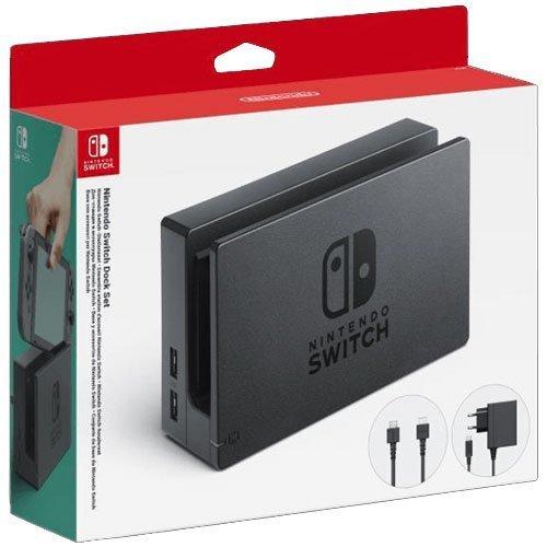 Ensemble dock / station d'accueil Nintendo Switch