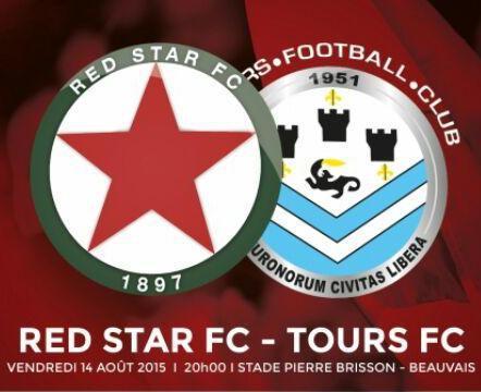Entrée gratuite pour le match Red Star - Tours pour les moins de 16 ans