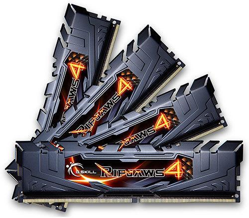 Kit RAM G.Skill Ripjaws DIMM 32 Go (4x 8Go) DDR4-2400