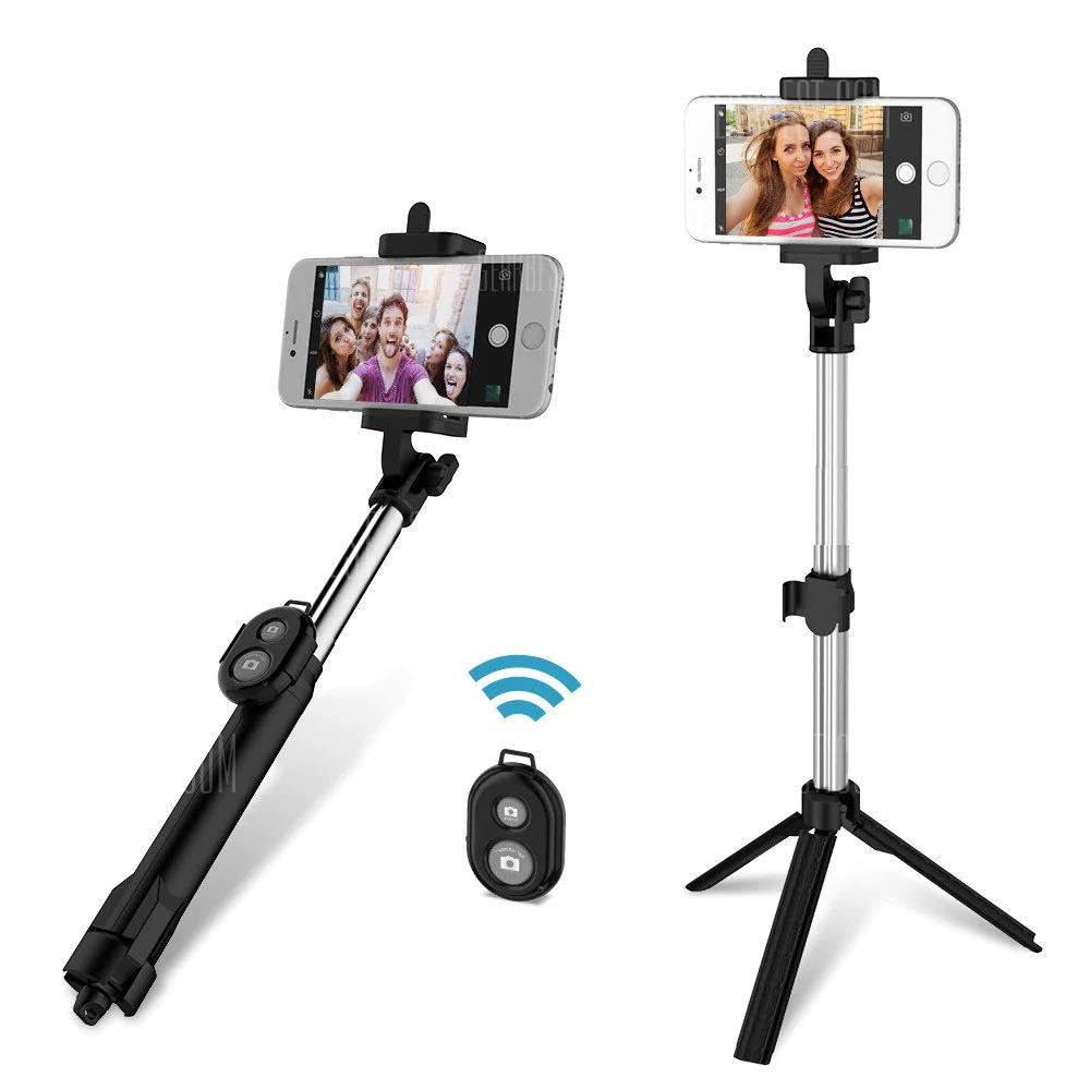 Perche selfie tripod 3 en 1 Gocomma bluetooth télécommande