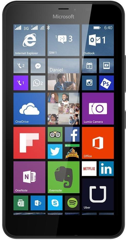 Smartphone Microsoft Lumia 640 XL Double SIM 8 Go Noir