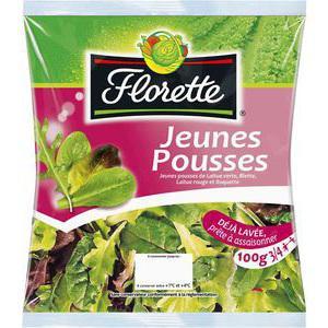Salade Jeunes Pousses Florette gratuite (BDR de 1€)