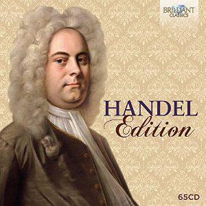 Précommande : Coffret Intégrale Haendel - 65 CD