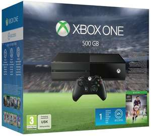 Précommande : Pack Console Microsfot Xbox One - FIFA 16
