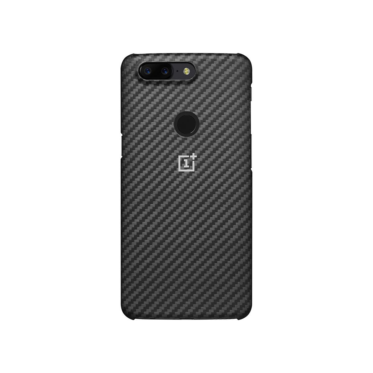 Coque Karbon pour Smartphone OnePlus 5T