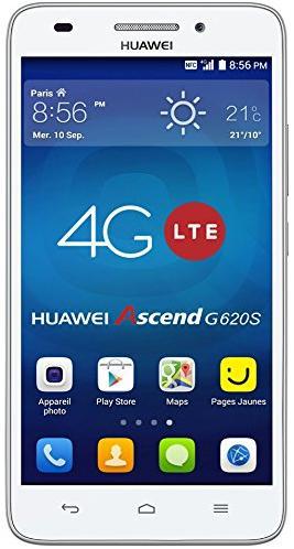 "Smartphone 5"" Huawei Ascend G620S 4G (Avec 20€ en tickets Leclerc)"