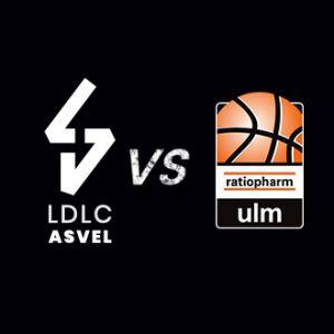 Billet gratuit pour le match de basket-ball ASVEL Lyon-Villeurbanne / Ratiopharm ULM - le 8 janvier (20 h 45), à l'Astroballe (69)