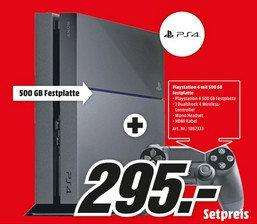 Pack console Sony  PS4  en magasin