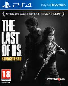 Jeu PS4 The Last of Us Remastered (version digitale US)
