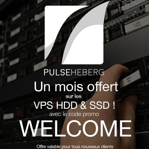 [Nouveaux Clients] 1 mois offert sur les VPS HDD & SSD