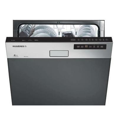 Lave vaisselle encastrable ROSIERES RLI1D53X - 44 dB, A+, 60 cm