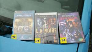 Sélection de jeux PC (L.A Noire, Far Cry 3: Blood Dragon...)