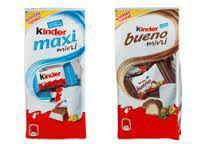 Kinder Maxi Mini ou Bueno Mini 120g