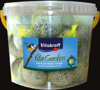 Seau de 30 Boules de graisse pour oiseaux VITAKRAFT - 2,7 kg