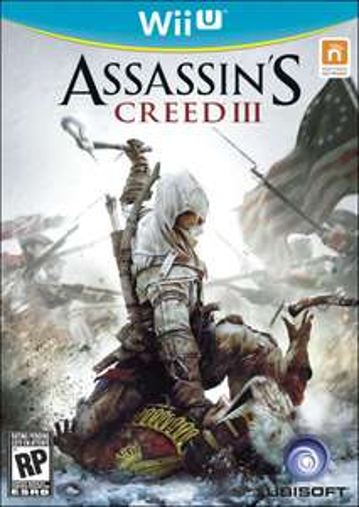 Assassin's Creed III Wii U / Frais de port inclus