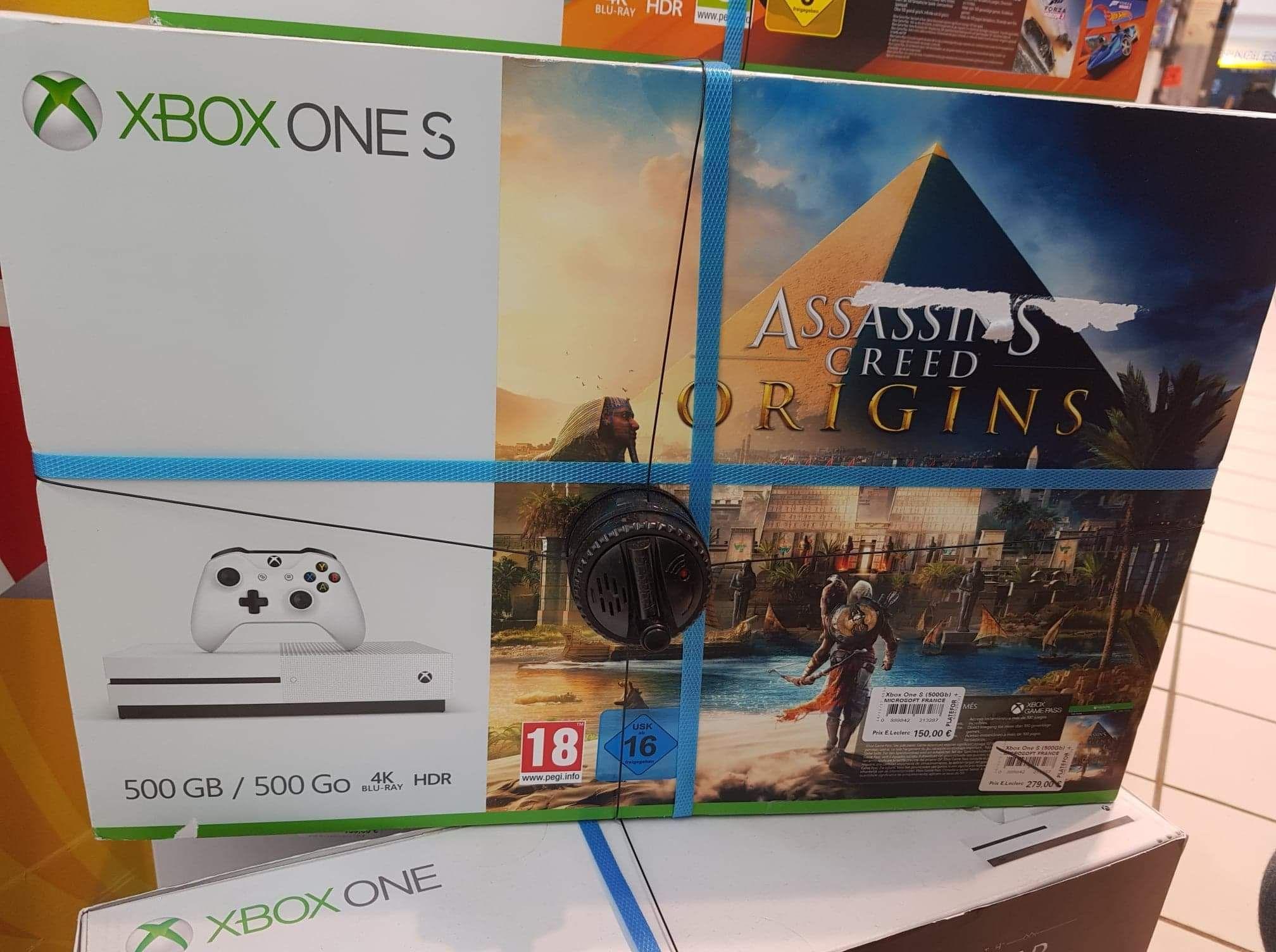 Sélection de Packs console Microsoft Xbox One S (500Go) + 1 Jeu - Fleury les Aubrais (45)