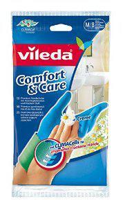 Lot de 3 paires de Gants Vileda Comfort & Care (Taille M)