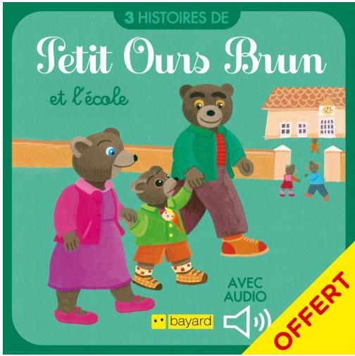 Petit ours brun et l'école gratuit (dématérialisé)