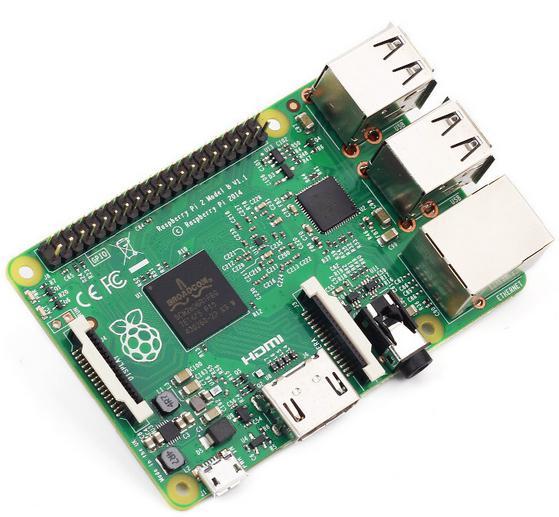 New Original Raspberry Pi 2 Model B + boîtier
