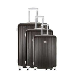 Set de 3 valises trolley rigides Torrente Eris 4 roues 50/60/70 cm