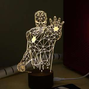 Lampe LED Iron Man 23cm (USB)