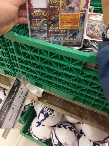 Pack de cartes pokémon (Via 8,45€ sur la carte de fidélité) - Saran (45)