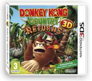 Sélection de jeux 3DS (Kirby Triple Deluxe, Donkey Kong Country...)