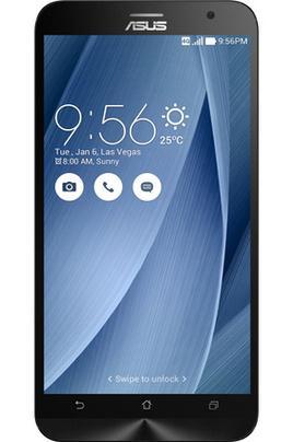 "Smartphone 5.5"" Asus ZenFone 2 ZE551ML (4 Go RAM, 32 Go) - Argent ou noir"