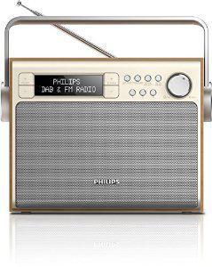 Radio Philips AE5020/12 - Tuner/AM/FM/DAB - Secteur/Piles