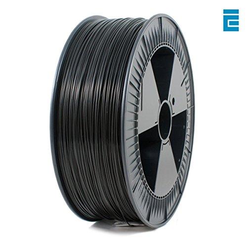 Filament PLA Ice Filament-  1.75mm, 2.3Kg, Noir