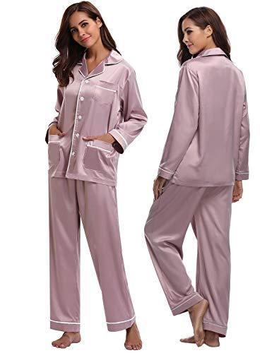 Pyjama en soie Femme Abollria - 2 pièces, Taille XL (vendeur tiers)