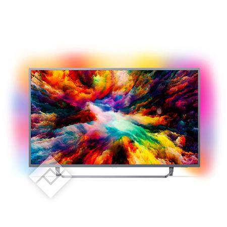 "TV 65"" Philips  65PUS7303/12 - 4K UHD, HDR, Smart TV, Ambilight (via ODR de 250€ - Frontaliers Belgique)"