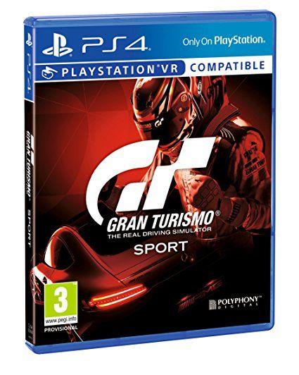 Jeu Gran Turismo Sport sur PS4